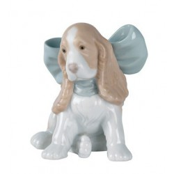 Puppy present Nao porcelain