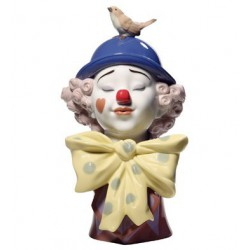 A clown's friend Nao Porcelain