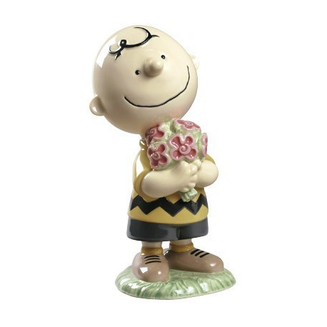 Charlie Brown Peanuts Nao Porcelain