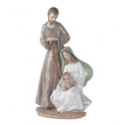 The Holy Family Nao Porcelain
