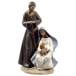 The Holy Family Gres Nao Porcelain