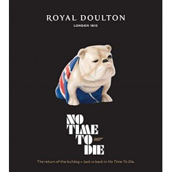 Royal Doulton James Bond 007 Jack The Bulldog Porcelain Figurine Film No Time To Die 2020 Edition