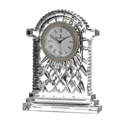 Carriage Clock 17.5 cm Lismore Collection By Waterford Crystal