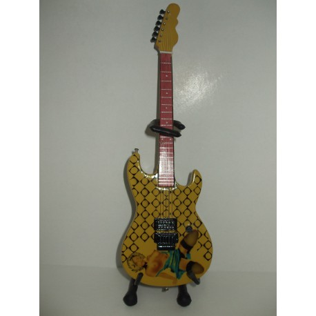 """ALICE IN CHAINS JERRY CANTRELL G &L """"BLUE DRESS"""" Miniature Guitar"""