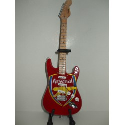 ARSENAL FOOTBALL CLUB STRATOCASTER Miniature Guitar