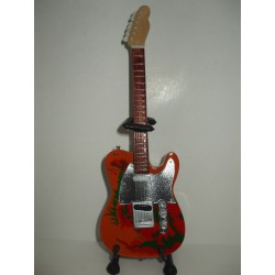 LED ZEPPELIN JIMMY PAGE TELECASTER Miniature Guitar
