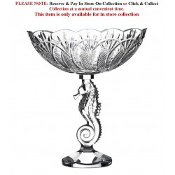 Centrepiece Bowl Seahorse Collection By Waterford Crystal