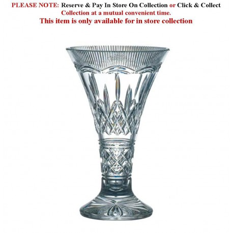 Statement Vase 35 cm - 13.8 Inches Lismore Collection By Waterford Crystal