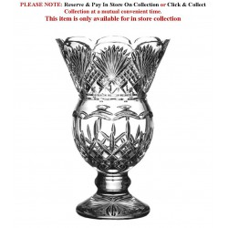 Thistle Vase 32.5 cm - 12.8 Inches Lismore Collection By Waterford Crystal