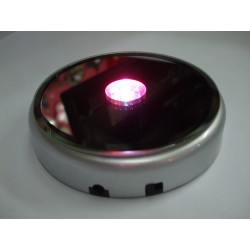 7 LED Round Static Light Base For Laser Creations
