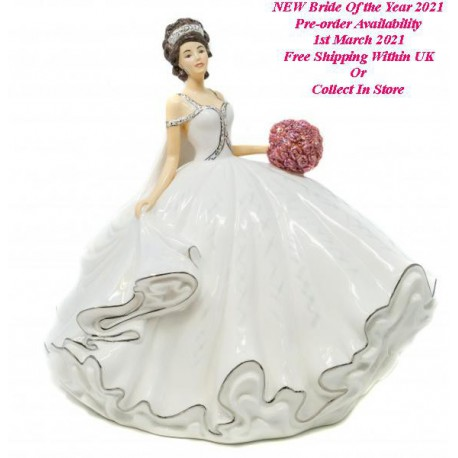 Bride Of the Year 2021 Brunette By Thelma Madine