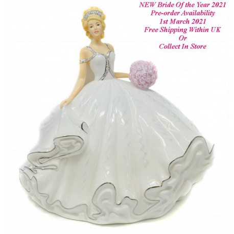 Bride Of the Year 2021 Blonde By Thelma Madine