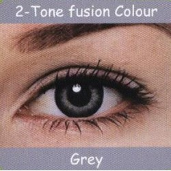 2 Tone Grey Colour Contact Lens 1 Pair
