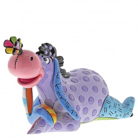 Eeyore with Butterfly Mini Figurine By Romero Britto