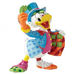 Uncle Scrooge Figurine By Romero Britto