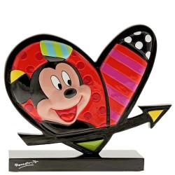 Mickey Mouse & Minnie Mouse Heart Icon By Romero Britto