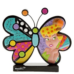 Tinker Bell Butterfly Icon By Romero Britto