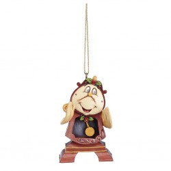 Cogsworth (Hanging Ornament) Disney Traditions