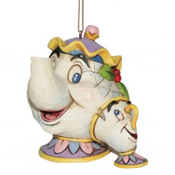 Mrs. Potts and Chip (Hanging Ornament) Disney Traditions