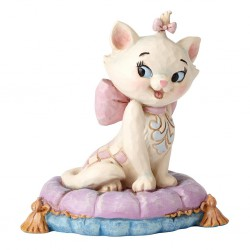 Marie on Pillow Mini Figurine Disney Traditions
