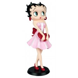 Betty Boop Holding Red Heart H 32cm