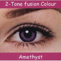 2 Tone Amethyst Colour Contact Lens 1 Pair