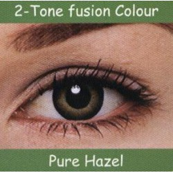 2 Tone Pure Hazel Colour Contact Lens 1 Pair