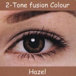 2 Tone Hazel Colour Contact Lens 1 Pair