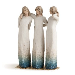 By my side Willow Tree Figurine
