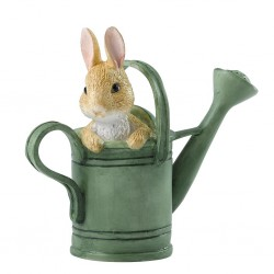 Peter in Watering Can Figurine
