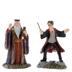 Harry and The Headmaster Figurine Harry Potter Character