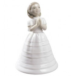 First communion bell Nao Porcelain